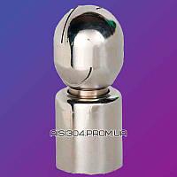"""Моющая головка из нержавеющей стали (ротационная) 1 1/2"""" * 63 мм AISI 304"""