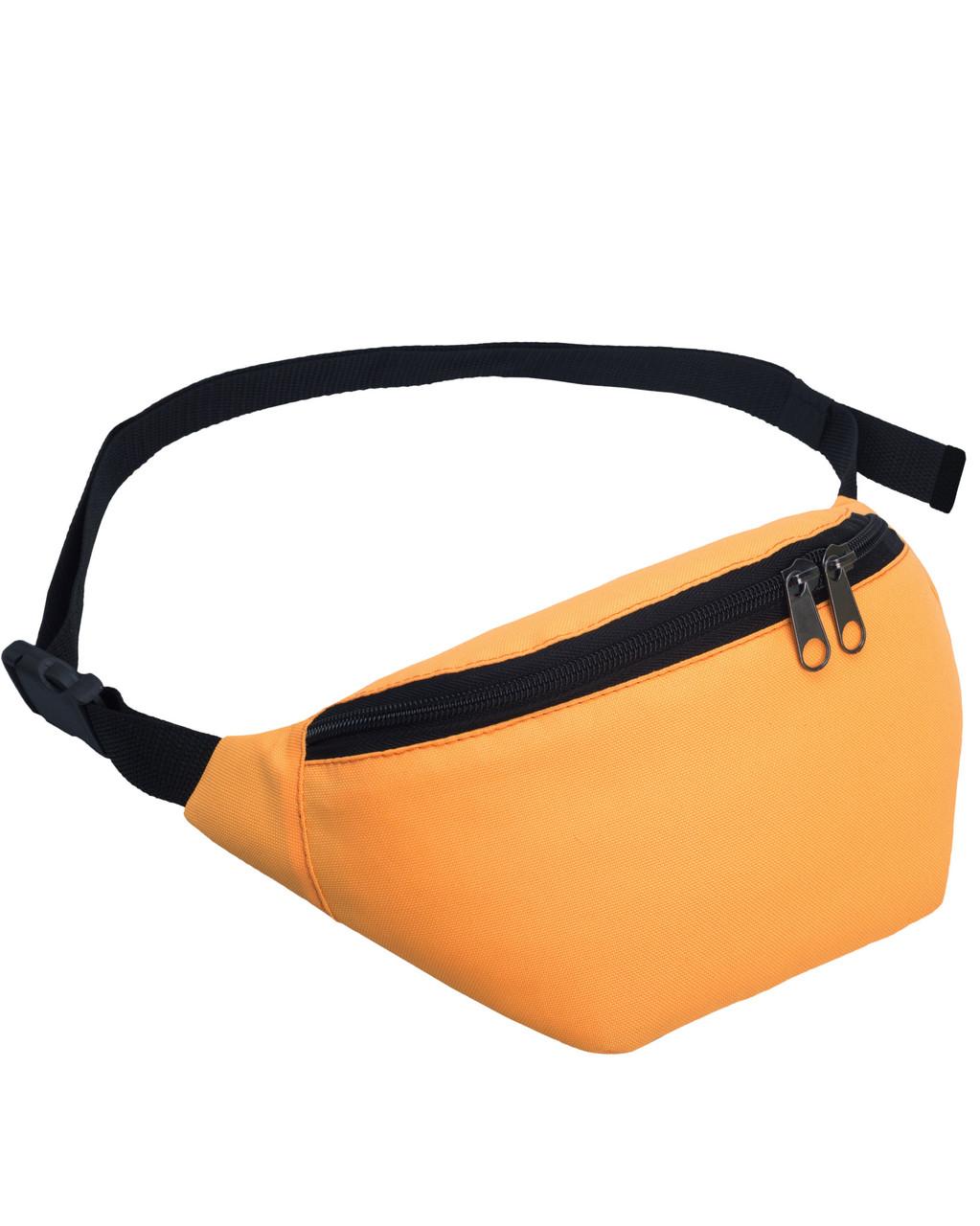 Сумка на пояс бананка Tempo Surikat оранжевый (сумка на пояс, сумки, с