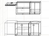 "Кухня ""Модерн"" длина 1,4 м - вариант №2, фото 3"