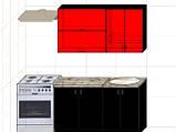 "Кухня ""Модерн"" длина 1,4 м - вариант №2, фото 2"