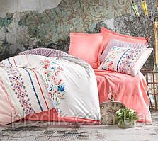 Двуспальное постельное белье 200х220 Cotton box Ранфорс Elena Somon