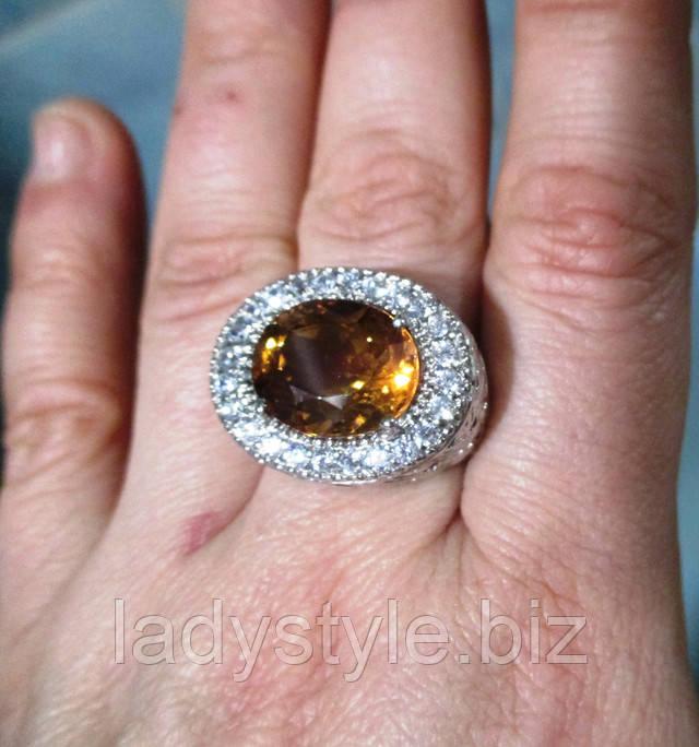 купить кольцо перстень украшения серебро турмалин параиба сапфиры
