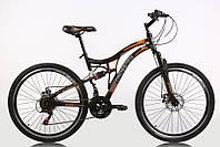 Подростковый велосипед Crossride 24 Explorer AMT