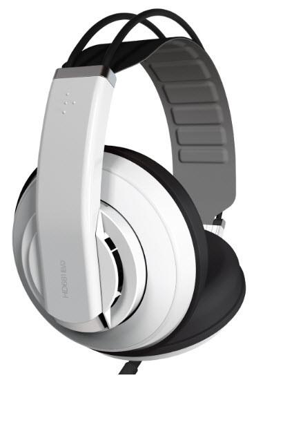 SUPERLUX HD681 EVO (White) Наушники Медиа, DJ модели тип Полу-открытый