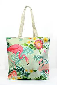 Пляжная сумка Коломбо бирюзовая