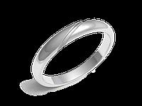 Кольца обручальные Серия Twin Set белое золото с бриллиантами - № 220-0114_200-0114