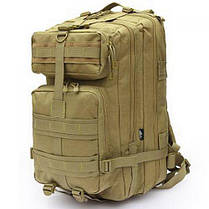 Рюкзак военный тактический штурмовой с USB Molle Assault 36L Coyote