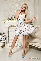 Платье мини с цветами, фото 1