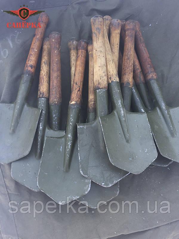 Лопата мала піхотна з чохлом РСЧА. Оригінал СРСР