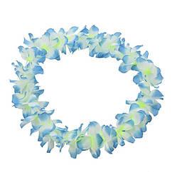 Гавайские леи Гибискус синие