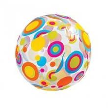 Мяч пляжный надувной Intex 51см