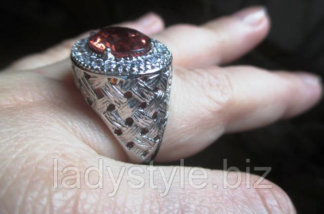 купить перстень кольцо украшения серебряные кольца сапфир турмалин