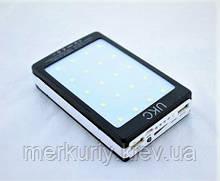 Мобильная зарядка Power Bank Metal+LED Solar 32000