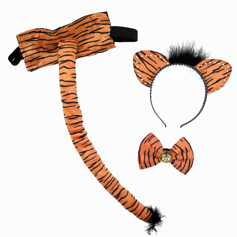 Набор Тигрули с большим хвостом