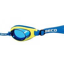 Окуляри для плавання BECO дитячі Malibu Pro 9939 12+, фото 2