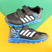 Детские черные кроссовки на мальчика, легкая спортивная обувь тм Томм р.29