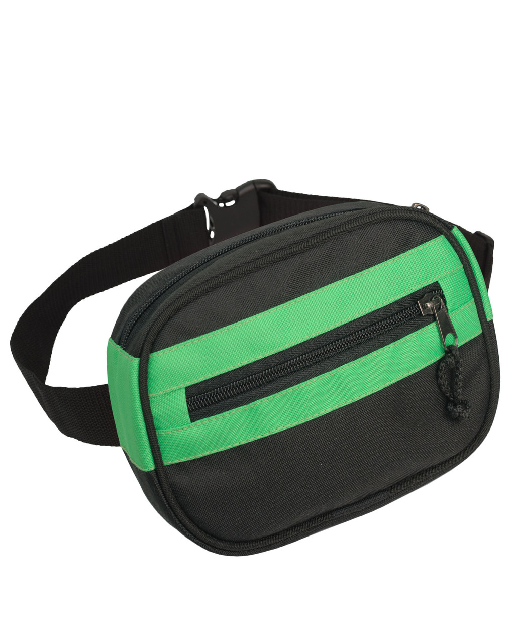 44e03e37c7e0 Поясная сумка бананка Kokos Surikat черный/зеленый (сумка на пояс, сумки,  сумка