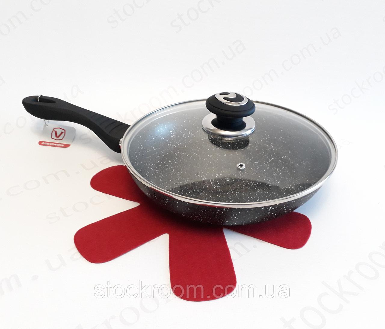 Сковорода из литого алюминия Vissner VS 7550-24 с антипригарным покрытием