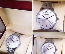 Часы наручные реплика Calvin Klein, CK, Кельвин Кляйн Silver