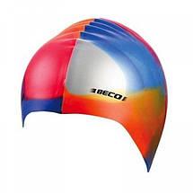 Шапочка для плавання BECO силікон 7391, фото 3