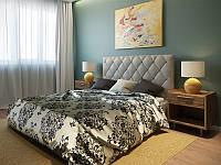 Кровать Стим 160х200 см в черном цвете
