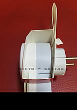 Вилка 2К+З з выключателем и подсветкой 16А белый 50409 Legrand Легранд