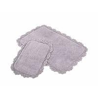 Набор ковриков для ванной Irya - Serra mor сиреневый 60*90+40*60 см