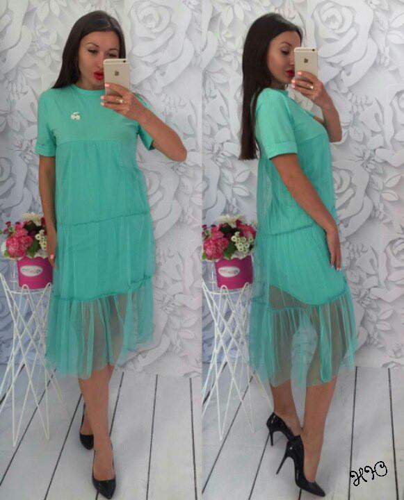 Красивое платье Pelageya (2 цвета) 106 (048)