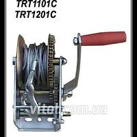 Ручная лебедка (стальной трос) TRT1101C/N42191 1000 LBS, лебёдка ручная, ручные лебёдки