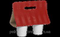Кейс для стаканов Красный Волной (1уп/25шт)