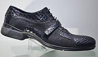 Туфли мужские Dino Bigioni (кожа питона)