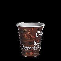 Стаканы Бумажные 175 мл. ДЛЯ ВЕНДИНГА  50шт.(54/2700) Кофейные зерна