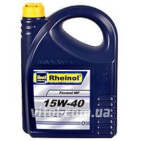 Моторное масло для машины Rheinol Favorol MF SHPD 15W-40, вязкость 15W-40, объем 5 л, автомобильные масла, машинное масло
