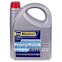 Моторное масло для машины Rheinol Power Synth CS Diesel 10W-40-1, вязкость 10W-40, объем 4 л, автомобильные масла, машинное масло