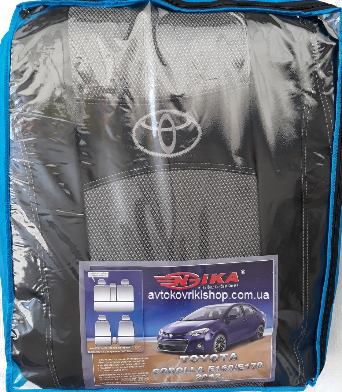 Авточехлы Toyota Corolla E160 / E170 2012- Nika