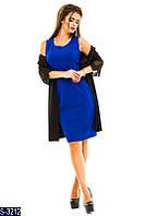 Платье S-3212 (48, 50, 52, 54, 56) — купить Платья XL+ оптом и в розницу в одессе 7км