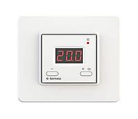 Термостат Terneo цифровой для теплых полов (с датчиком температуры пола и с кнопкой выключения питания) Белый (Terneo st)