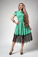 Шикарное платье из качественной костюмной ткани