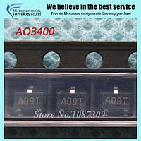 Транзистор полевой AO3400 AO3400A SOT23 50шт.