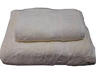 Набор махровых полотенец Galata кремовый
