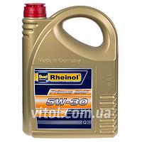 Моторное масло для машины Rheinol Primus SMF 5W-30, вязкость 5W-30, объем 5 л, автомобильные масла, машинное масло