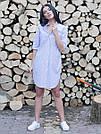 Женское платье-рубашка на лето