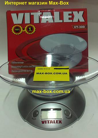 Весы кухонные Vitalex 3 кг VT 300
