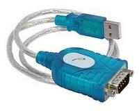 Преобразователь USB в RS232, кабель переходник, конвертер