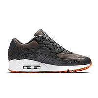 Кроссовки женские кожаные Nike Wmns Air Max 90 Premium Dark Grey
