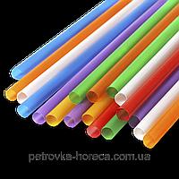 Трубочка Фреш (Микс Разноцветная) 8мм 25см 500шт