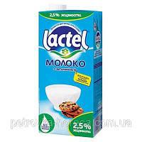 "Молоко ТМ""Lactel"" 1000мл, 2,5% (1ящ/12шт)"
