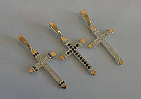 Мужской крест из серебра