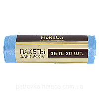 """Пакет для мусора TM""""PETROVKA HoReCa"""" 35л*30шт 6мкм"""