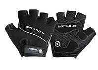 Перчатки KLS Race New XS Черные